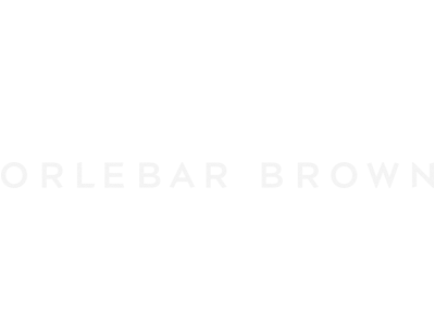 Orlebar Brown white logo