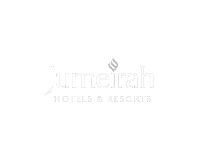 Jumeirah Hotels & Resorts white logo
