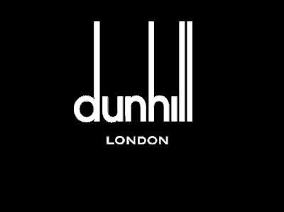 Dunhill white logo