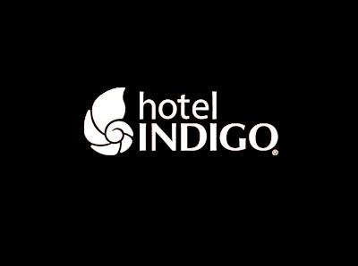 Hotel Indigo white logo