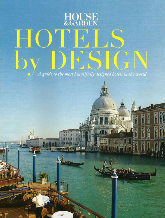 House & Garden Hotels By Design article featuring Music Concierge March 2013