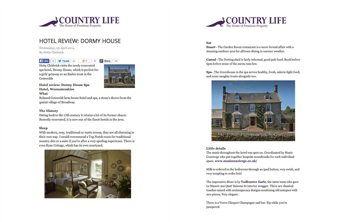 Article Country Life