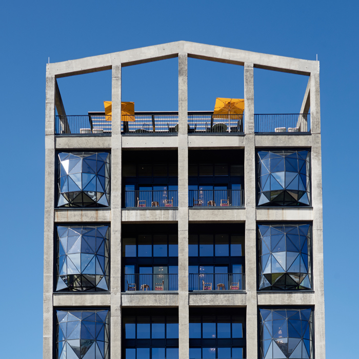 The Silo hotel exterior Cape Town