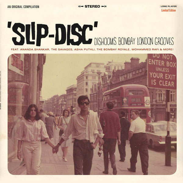 Dishoom's Bombay London Grooves Slip-Disc LP cover