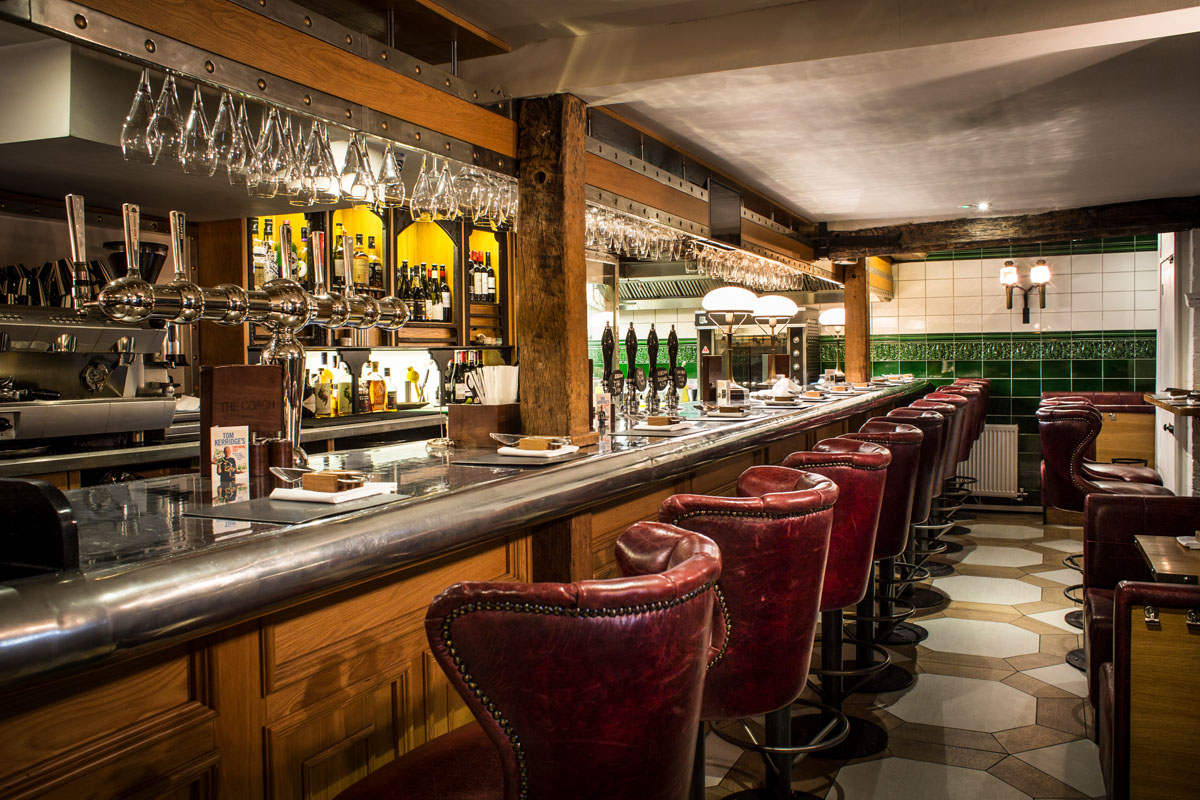 Music Concierge client - Tom Kerridge restaurant, TheCoach